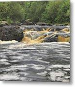Upper Gabbro Falls Metal Print