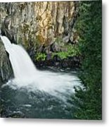 Upper Mccloud Falls Metal Print