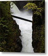 Upper Qualicum Falls 2 Metal Print