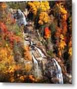 Upper Whitewater Falls Metal Print