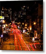Uptown From Highline Metal Print