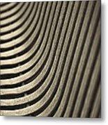 Upward Curve. Metal Print
