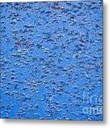 Urban Abstract Blue Metal Print