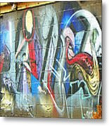 Urban Alley Metal Print