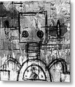 Urban Bot Metal Print