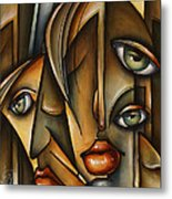 Urban Expression Metal Print