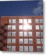 Urban Glare Metal Print