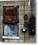 Urban Gritty Metal Print