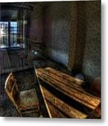 Urbex Morning Wake Up Metal Print