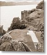 Urquhart Castle Ages Metal Print