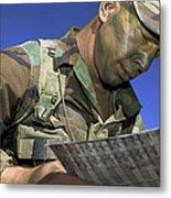 U.s. Air Force Lieutenant Reviews Metal Print