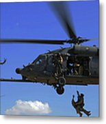 U.s. Air Force Pararescuemen Metal Print