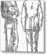 U.s. Army: Fatigues, 1882 Metal Print by Granger