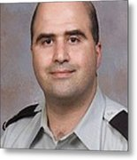 Us Army Major Nidal Malik Hasan Metal Print by Everett