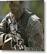 U.s. Army Ranger Metal Print