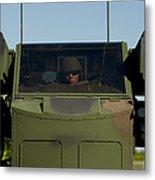 U.s. Army Specialist Operates An Metal Print
