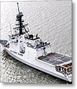 U.s. Coast Guard Cutter Stratton Metal Print