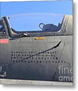Us Fighter Jet Plane . 7d11295 Metal Print by Wingsdomain Art and Photography