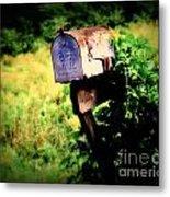U.s. Mail Metal Print