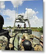 U.s. Navy Riverine Squadron Metal Print