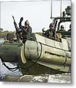 U.s. Navy Sailors Conduct A Hot Metal Print