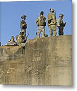 U.s. Special Operations Soldiers Metal Print