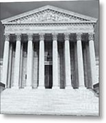 Us Supreme Court Building Viii Metal Print