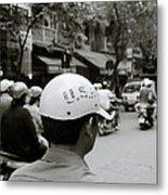 Usa And Hanoi Metal Print