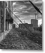 Usa's Most Dangerous City Metal Print by Jane Linders