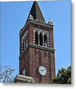 Usc's Clock Tower Metal Print