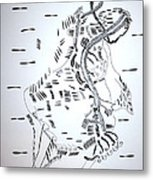 Ussua Dance - Sao Tome And Principe Metal Print