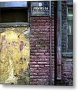 Utensils. Belgrade. Serbia Metal Print