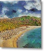 Vai Beach II Metal Print
