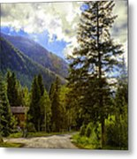 Vail Country Road 1 Metal Print