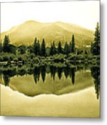 Vail Reflections 2 Metal Print