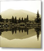 Vail Reflections Metal Print