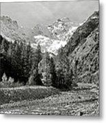 Val Di Cogne In The Italian Alps Metal Print