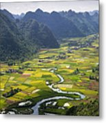 Valley Metal Print
