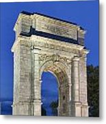 Valley Forge Memorial Arch Metal Print