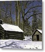 Valley Forge Winter Metal Print
