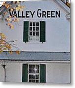 Valley Green Inn - Side View Metal Print
