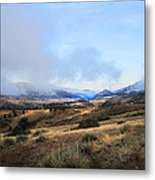 Valley Mist Metal Print by Ric Soulen