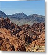 Valley Of Fire 2 Of 4 Metal Print