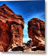 Valley Of Fire Monuments Metal Print