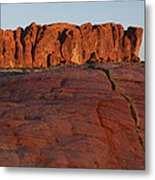 Valley Of Fire Rockscape Metal Print