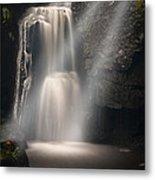 Valley Waterfall Lost Love Metal Print