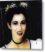 Vampire Bride Metal Print