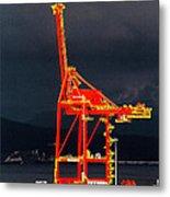 Vancouver, Bc - Harbour Metal Print