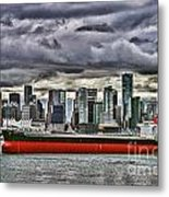 Vancouver Freighter Hdr Metal Print