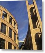 Vancouver Library Building Metal Print